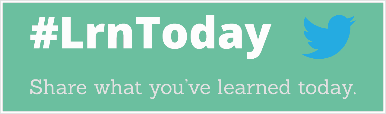 LrnToday - Share What You Learned Today