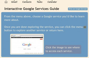 Interactive Google Services Guide