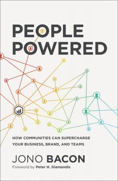 People Powered by Jono Bacon Book Cover